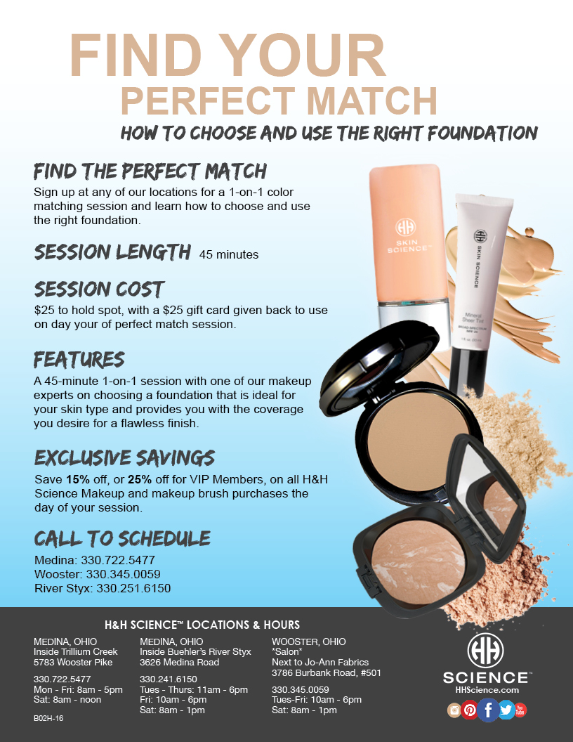 Is Your Makeup Causing Your Acne and Dull Skin? – H&H Science